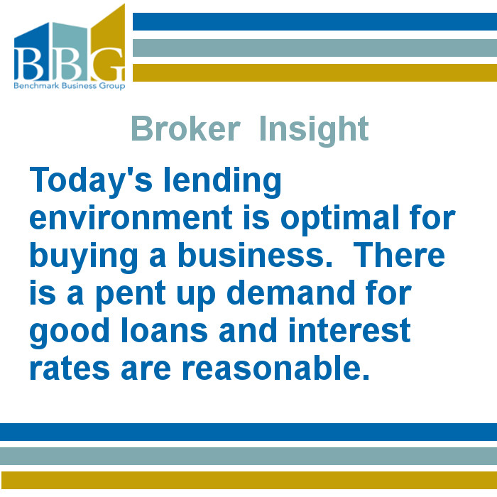 Business Broker Insight on lending environment for those looking to buy a business in iowa